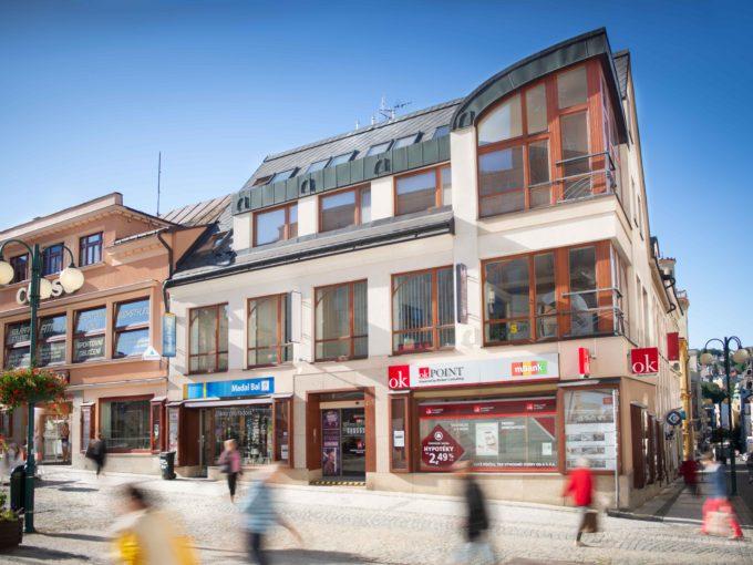 Komerční nebo kancelářské prostory v centru Jablonce